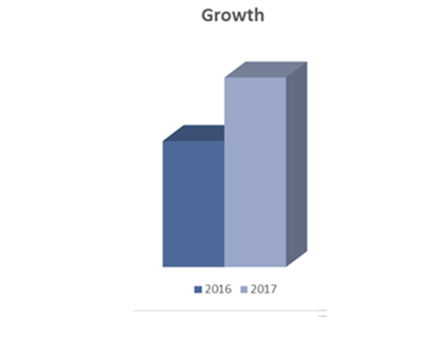 Howell Foundation Growth Graph - Giving Results