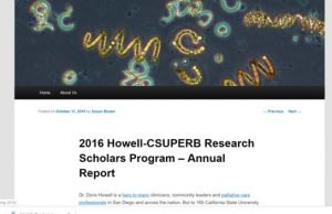 Howell Foundation News - CSUPERB Report to the Howell Board demonstrates positive outcomes for Howell Scholars